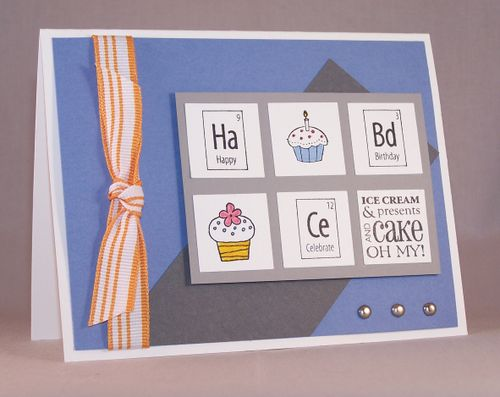 Perfect Chemistry Birthday card