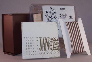 2010 calendar gift set