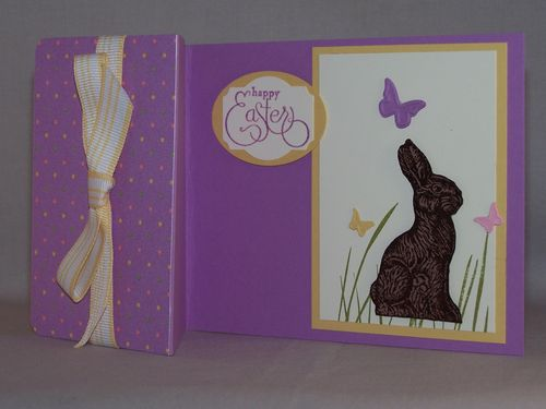 March Hop Easter Card