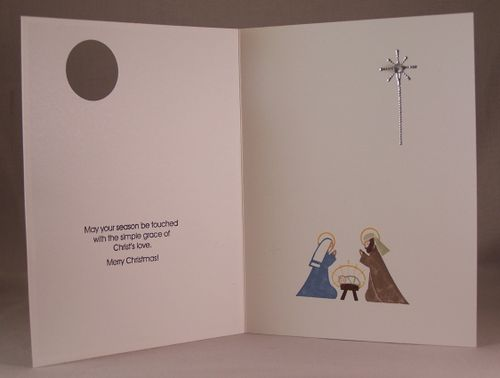 Season of Grace inside of card