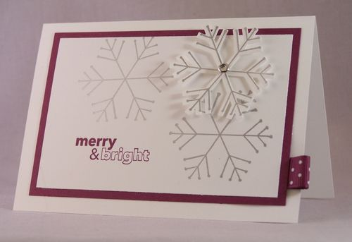 Merry and Bright gift card holder
