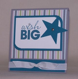 Wish Big Matchbook
