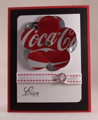 Coca Cola Enjoy card