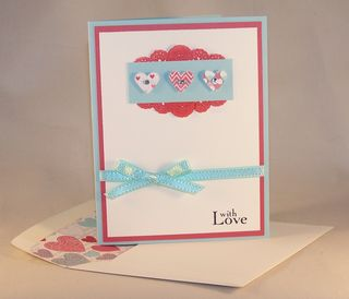 With Love and lined envelope