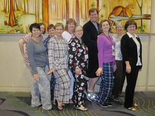 Leadership PJ Party